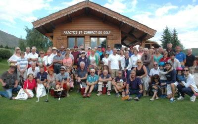 Les propriétaires d'appartements et de chalets réunis pour leur journée d'été